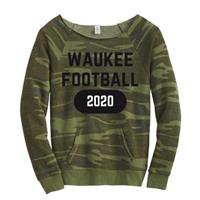 Ladies Camo Sweatshirt